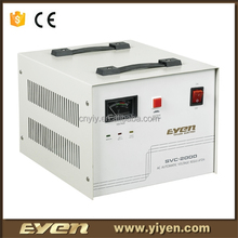 Hot sale SVC 2000VA single phase input motor type AC automatic universal voltage stabilizer /AVRfor pump