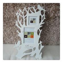 2015 sıcak- satış duvar ahşap fotoğraf çerçevesi aile ağacı
