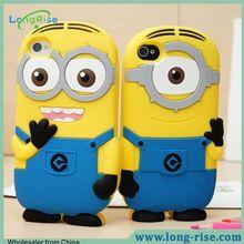 2015 Hot Sale Cute Minions Cartoon Design for iPod Touch 6 Case