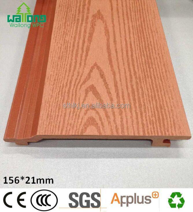 Wood Plastic Composite Wall Panel : Wood plastic composite wall panel outdoor wpc