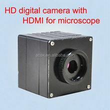 Digital camera for microscope