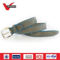 Wholesale men's suede leather belts manufacturer