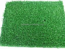 Indoor/outdoor green artificial grass turf