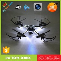 night flying wifi drone 3D flip one key return headless wifi quadcopter