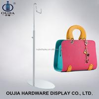 beautiful handbag holder stand/ hang bag display for bag store