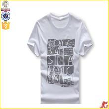 custom printed t shirt men wholesale o-neck t shirt men polyester t shirt