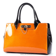 Top designer bag fashion lady bag leather for women patent leather bag