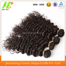 high quality 100% kanekalon fiber jerry curl hair wefts/hair weaves/hair extensions