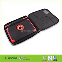 Bag zipper case for ipad mini,unbreakable protective case for ipad