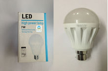7w led bulb Cheap Range with B22 Holder