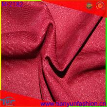 shining knitted fabric diamond shining dyed fabric for garment