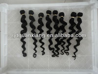 Wholesale New products 2013 loose curly indian remy weaves directly from factory