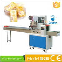 Feeder automatic horizontal baked food packaging machine