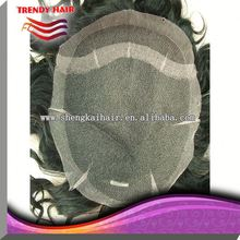 Thin Skin Men's Hairpiece Toupee For Men from Factory