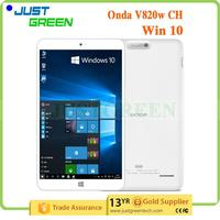 New Arrival Onda V820W CH Intel z8300 Quad core 1280*800 8 inch tablet pc touch screen digitizer with low price