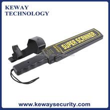 High Sensitivity Handheld Metal Detector, Super Scanner Hand held Metal Detector