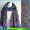 paisley printing 100% polyester scarf