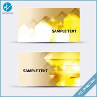 Custom matt lamination paper VIP cards