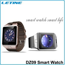 Trade Assurance Gold Supplier dz09 latest low cost wrist watch mobile phone MTK6260A smart watch mobile phone