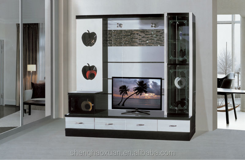 Led tv wall unit designs