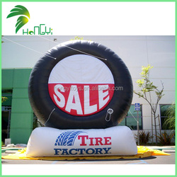 Serviceable Standing Inflatable Tire For Sale