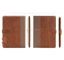 Portable genuine leather case for ipad air 2 cover ,luxury design for ipad air 2 leather case HH-IP621(6)