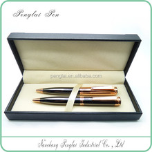 Classical Luxury vip gift pen metal calligraphy pen set