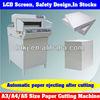 Hot Sale Automatic Digital Control Paper Cutter Machine Suppliers,Programmed Control Industrial Electric Paper Cutter Machine