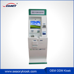 Community intelligent self service touch scren with pin pad kiosk