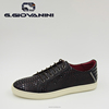 Famous leather design black brand customize sneaker shoes