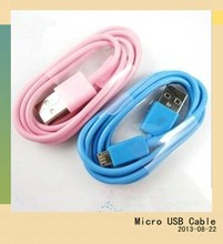 braid usb micro usb cable with UL,SGS certification