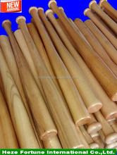 customized designed pine wood baseball bats on sale