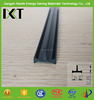 high quality shape T pvc heat and cold resistant insulation gasket material