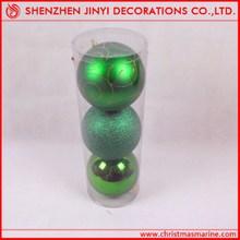 Promotional Apple green Christmas Ball