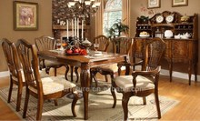 wooden dining table with chairs homes for sale A15