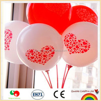 printing advertising party decoration nature latex balloon with sticks