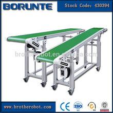 transportador de correa industrial para la fábrica de automatización del sistema