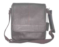 COLOMBIAN LEATHER SOFT TOUCH FULL GRAIN DAYBAG WITH UNIVERSAL TABLET SLEEVE
