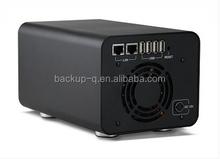 2bay LAN sata HDD Enclosure/HDD Case, sata hard drive enclosure/External HDD Enclosure