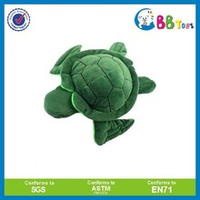 Promotional Sex sea animal soft toys plush green turtle kids toy