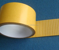 cheap adhesive double faced fiber glass tapeJLW-323, SUITABLE FOR THE ADHESION TO INSULATION LAYER OF FLOOR......