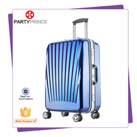 customzied logo and color ABS+PC Aluminum frame luggage