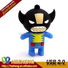 Hotsale Novelty Superhero USB Pen Drive 4GB