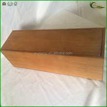 Wood Wine Packaging Box with Sliding Lid