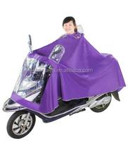 women stylish extra large e-scooter rain poncho