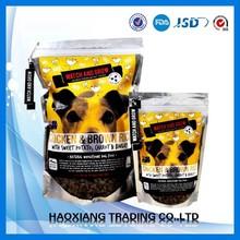Grain free dog food bags/natural organic dog food packaging bags