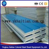 Wholesale low price insulated Roof EPS Sandwich Panel, eps sandwich wall panel