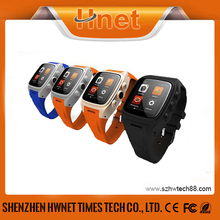 GPS wifi pedometer heart rate monitor android watch phone