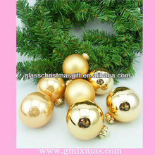 2015 hot sale wholesale christmas glass ball ornaments with aluminum cap,Trade Assurance supplier