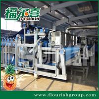 Industrial pineapple juice extractor processing machine